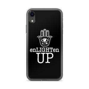 ENLIGHTEN UP BLACK iPhone Case