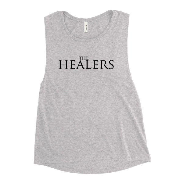 THE HEALERS FONT Ladies' Muscle Tank BC88