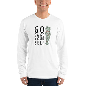 GO SAGE YOURSELF Long sleeve t-shirt
