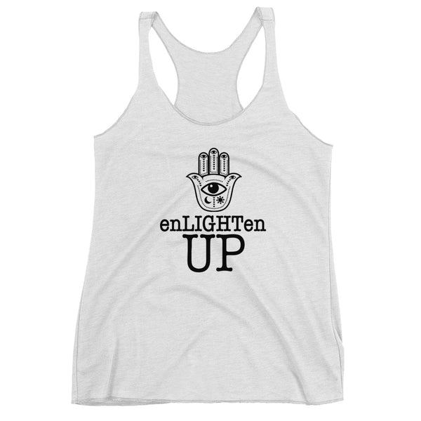 enLIGHTen UP B Racerback Tank
