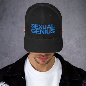 SEXUAL GENIUS B Trucker Cap