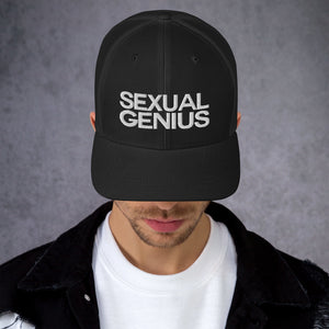 SEXUAL GENIUS W Trucker Cap