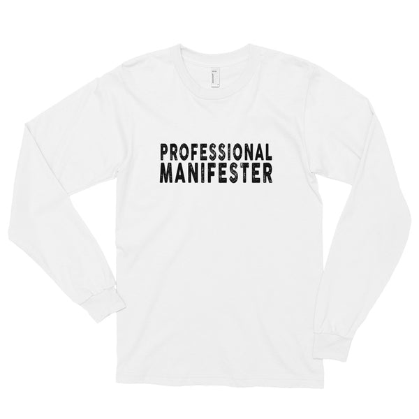 PROFESSIONAL MANIFESTER Long sleeve t-shirt