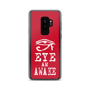 EYE AM AWAKE RED Samsung Case