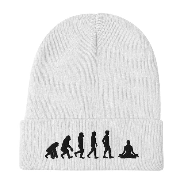 EVOLUTION MEDITATION Embroidered Beanie