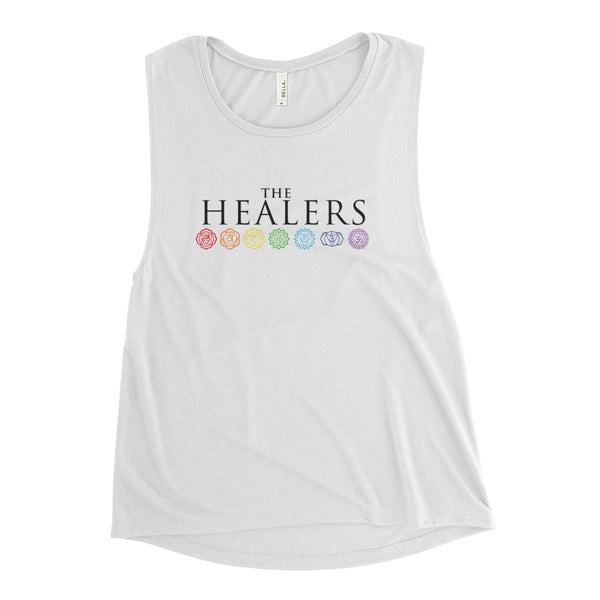 The Healers Ladies' Muscle Tank