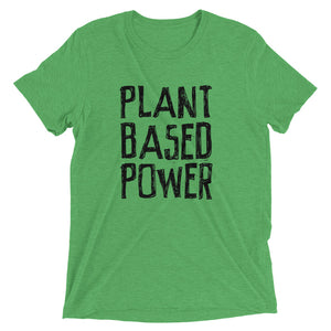PLANT BASED POWER UNISEX  T-shirt