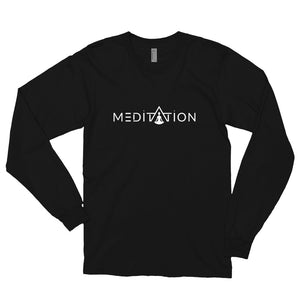 MEDITATION Long sleeve t-shirt