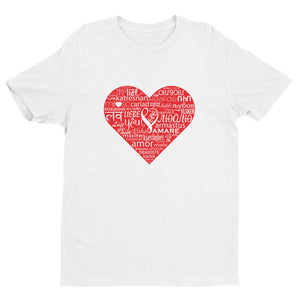 Mens LOVE Short Sleeve T-shirt NL36