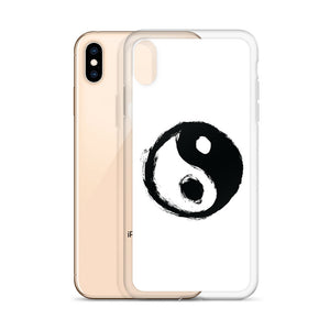 YIN & YANG WHITE iPhone Case