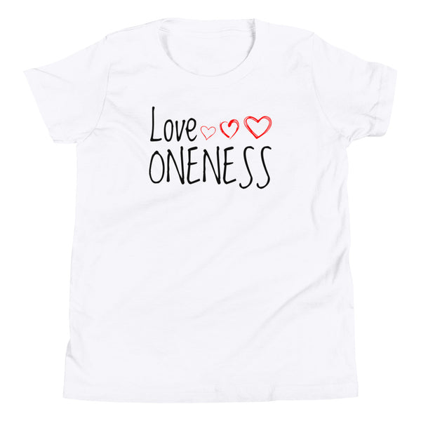 LOVE ONENESS HEARTS  T-Shirt