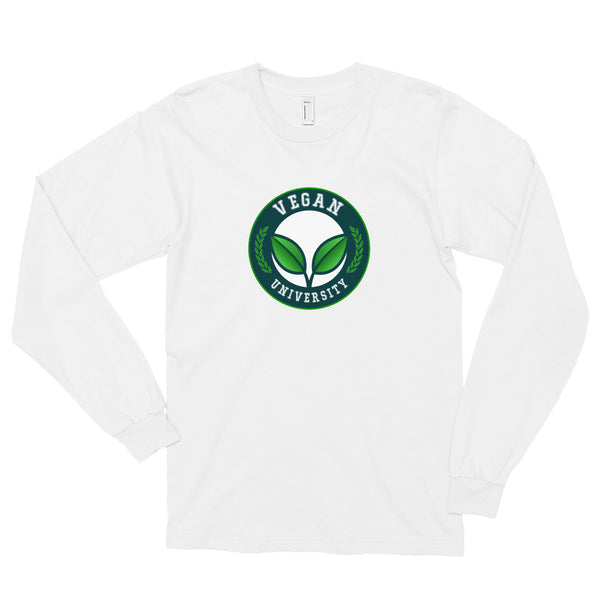 VEGAN UNIVERSITY Long sleeve t-shirt