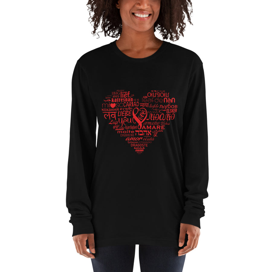 LOVE LANGUAGES R Long sleeve t-shirt