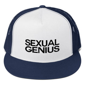 SEXUAL GENIUS 2 Trucker Cap
