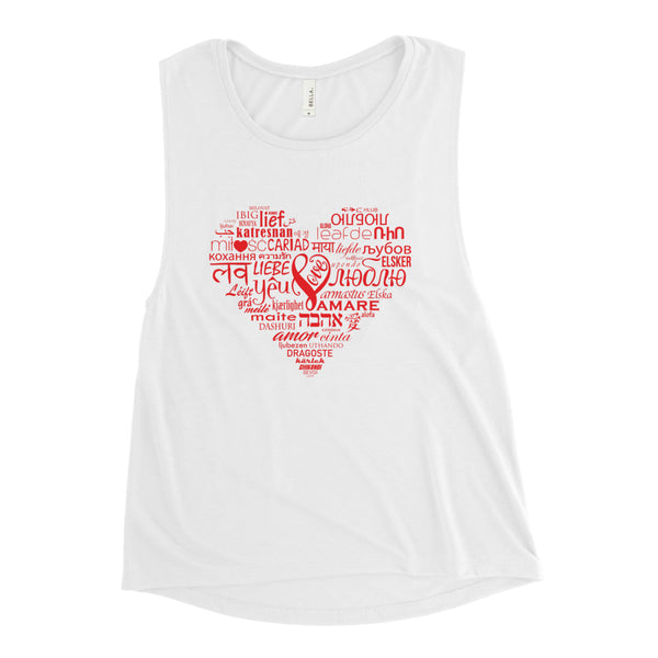 LOVE LANGUAGES R  Muscle Tank
