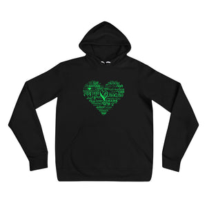 LOVE LANGUAGES GB Unisex hoodie