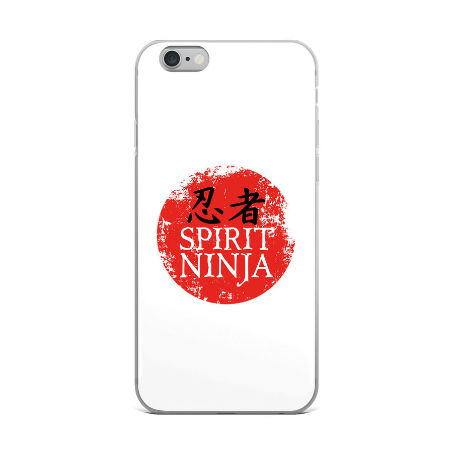 SPIRIT NINJA WHITE iPhone Case