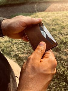 The Thomas | Minimalist Wallet - Horween