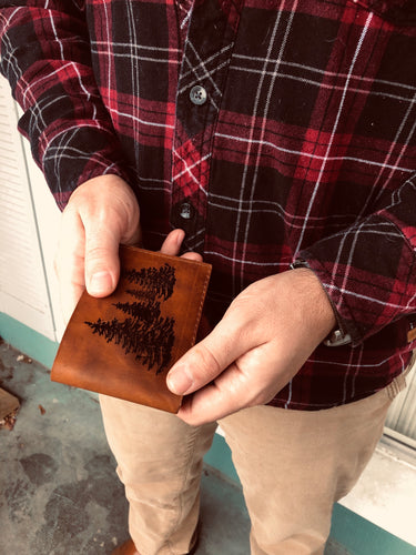 The Forest | Leather Wallet