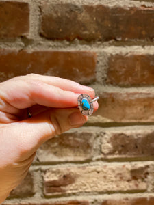 Reserved: Sterling Silver and Turquoise Ring