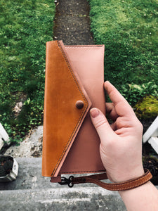 The Grace | Leather Wristlet