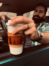 Load image into Gallery viewer, Leather Coffee Sleeve