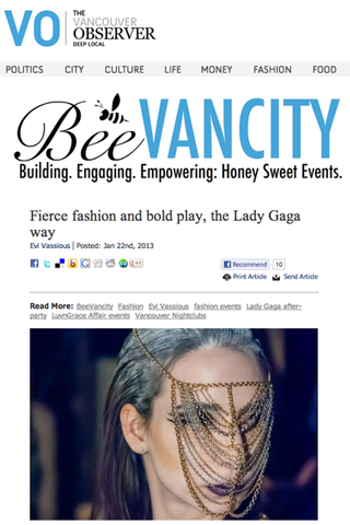 body chain the vancouver observer