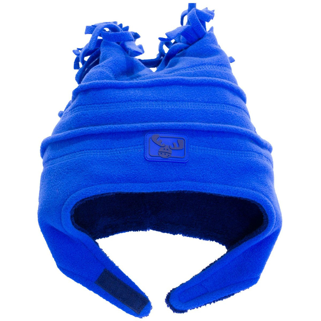 Calikids - Bonnet Polar 4 Pointes À Velcro Bleu Royal
