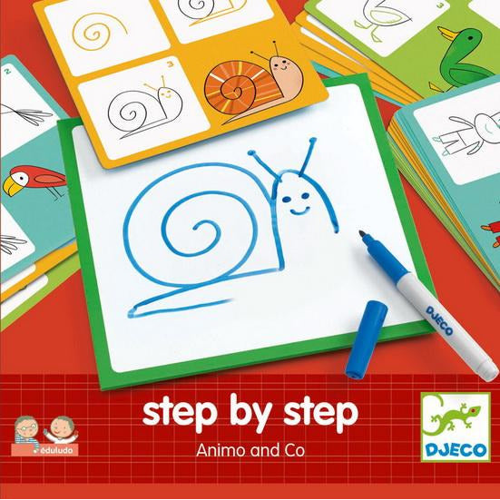 Djeco - Step by Step - Animo & Co - Mère & Mousses - Accessoires Vetements Maternité Enfant
