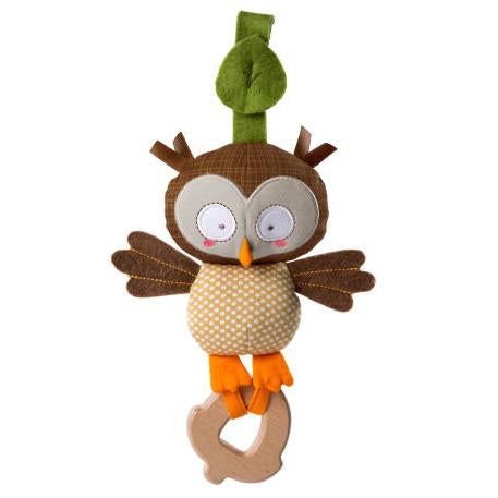 Simply Bright Starts - Hochet de dentition - Hibou