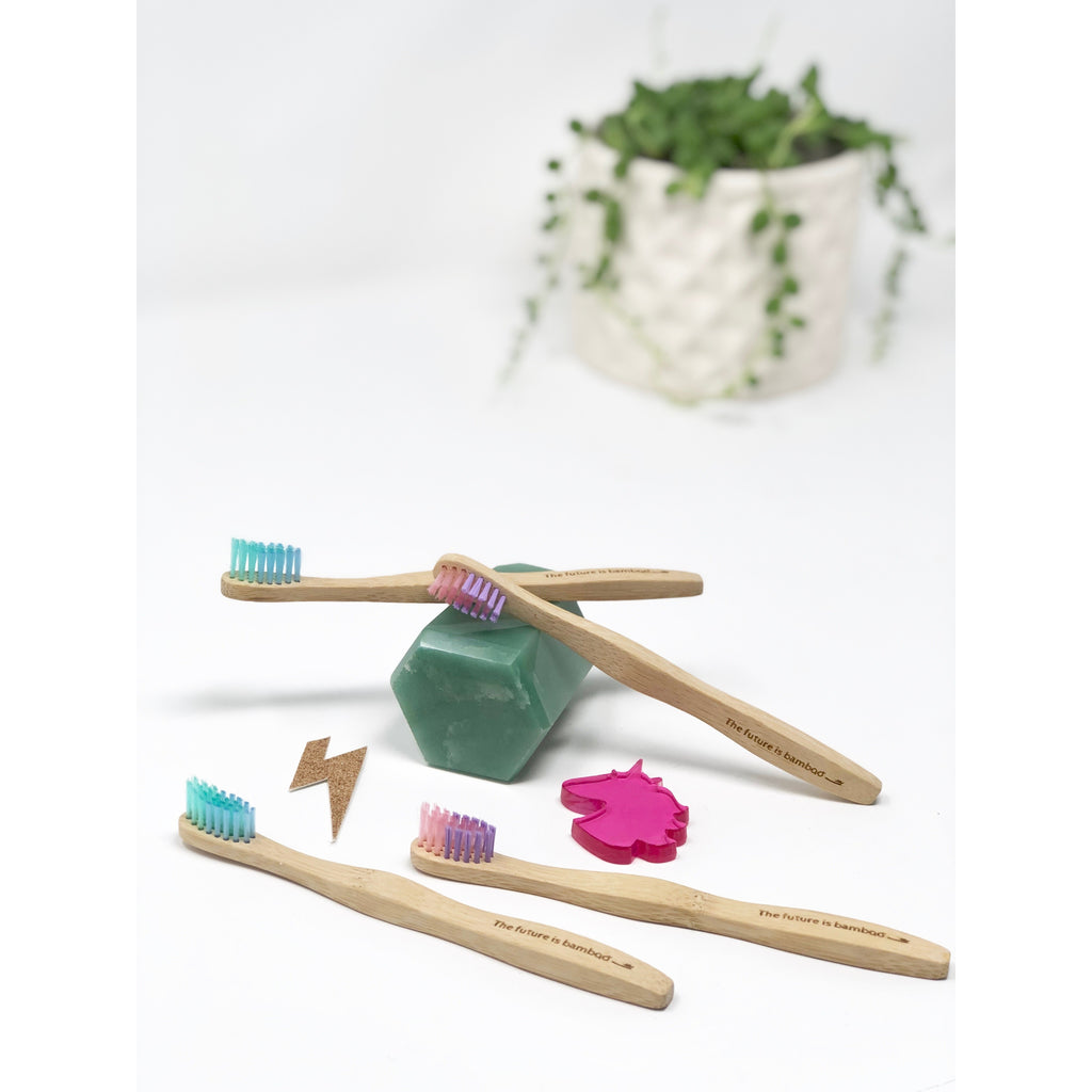 The Future is Bamboo - Brosse à Dents - Enfant