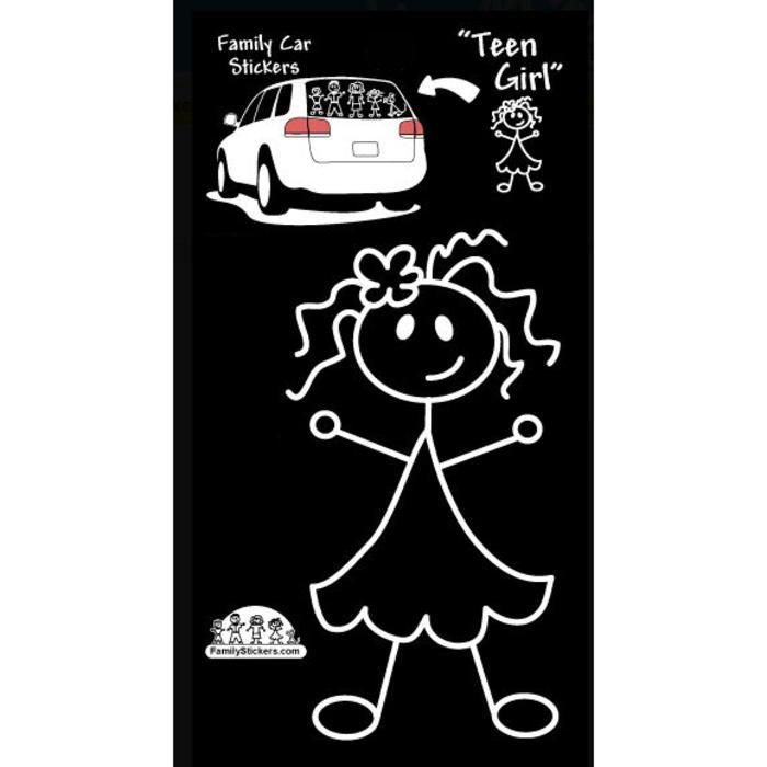 Family Stickers - Autocollants pour la voiture - Mère & Mousses