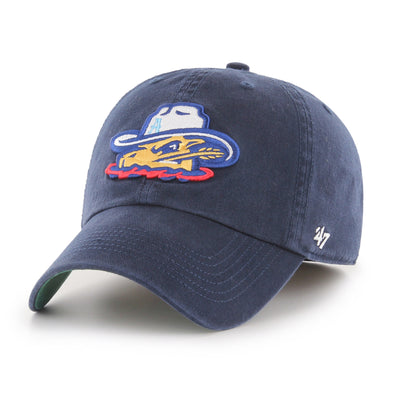 Amarillo Sod Poodles Navy Head '47 FRANCHISE STRETCH FIT Hat