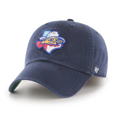 Amarillo Sod Poodles Navy State '47 FRANCHISE STRETCH FIT Hat