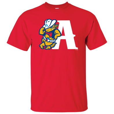 Amarillo Sod Poodles Red Leaning A Tee