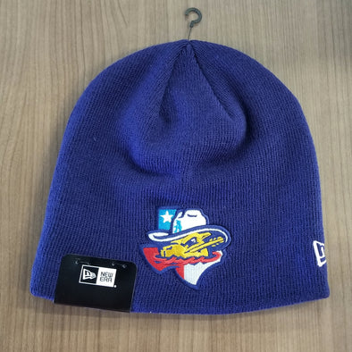 Amarillo Sod Poodles New Era Navy State Knit Game Beanie Hat
