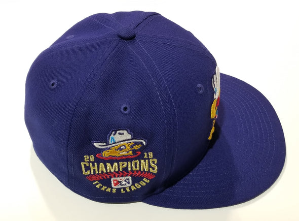 Amarillo Sod Poodles Gold Leaning A Limited Edition Champions 5950 On-Field Hat