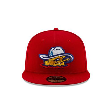 Amarillo Sod Poodles Red Game 5950 On-Field Hat