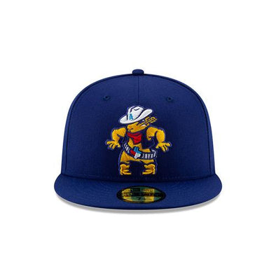 Amarillo Sod Poodles Blue Quick Draw 5950 On-Field Hat