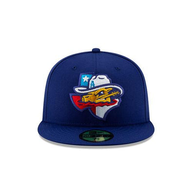 Amarillo Sod Poodles Blue State 5950 On-Field Hat