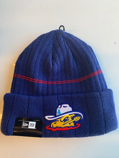 Amarillo Sod Poodles Official On-Field New Era Knit Game Beanie Hat