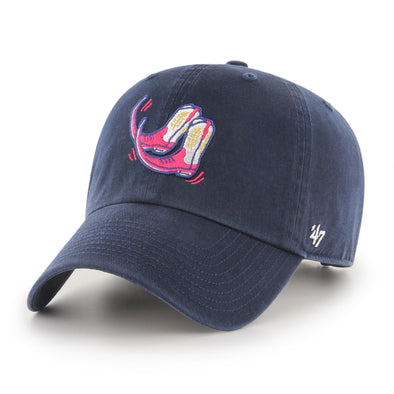 Pointy Boots de Amarillo Navy Boots '47 CLEAN UP Adjustable Hat