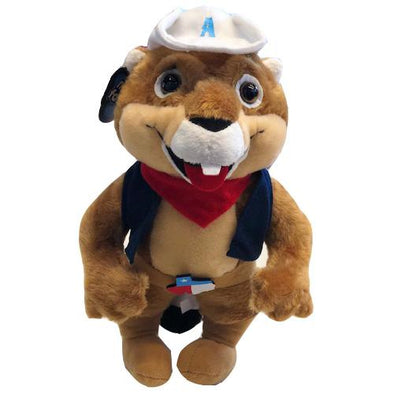 Amarillo Sod Poodles RUCKUS Stuffed Animal Plush Doll