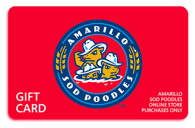 Amarillo Sod Poodles eGift Card