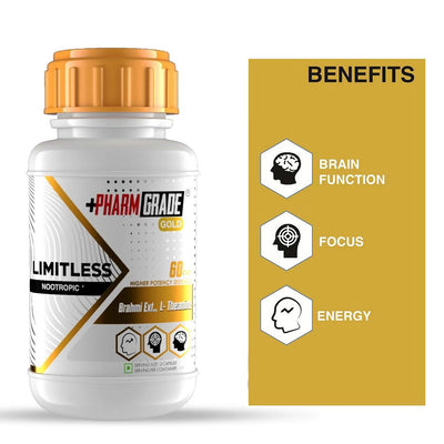 PHARMGRADE LIMITLESS NOOTROPIC