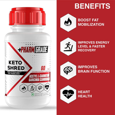 PHARMGRADE KETO SHRED