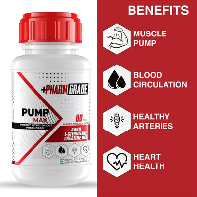 PHARMGRADE ARGININE PUMP MAX