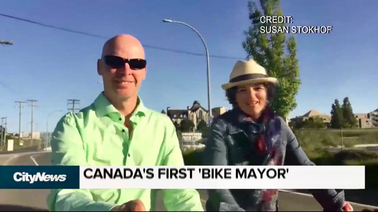 Canada's first Bicycle Mayor introduced in Victoria