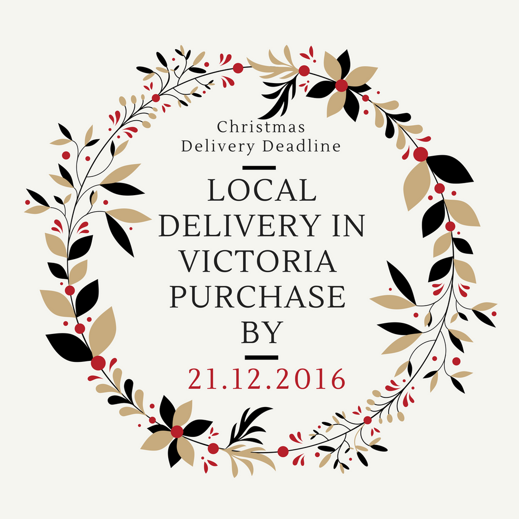 Christmas in the City | Important Delivery Deadlines for local, Canada & USA Customers