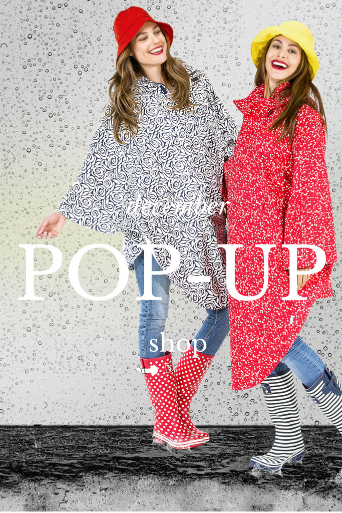 Our Pop Up Shop is the place to be: Enjoy a warmer shopping experience